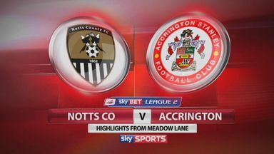 Notts County 2-0 Accrington