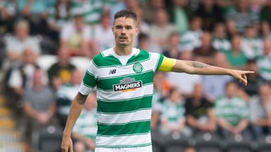 Celtic defender Mikael Lustig misses the trip to Tannadice