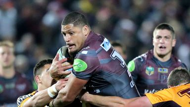 Willie Mason most recently played in the NRL with the Manly Warringah Sea Eagles