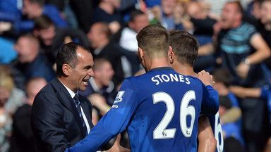 Roberto Martinez was delighted with his defender