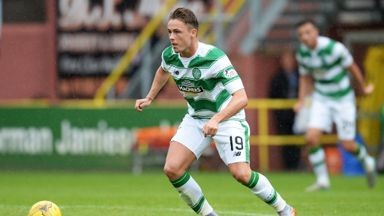 Scott Allan joined Celtic from Hibs despite growing up as a Rangers supporter