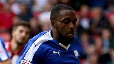 Sylvan Ebanks-Blake: New arrival for Shrewsbury