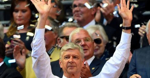 Arsene Wenger: Finally defeats Mourinho