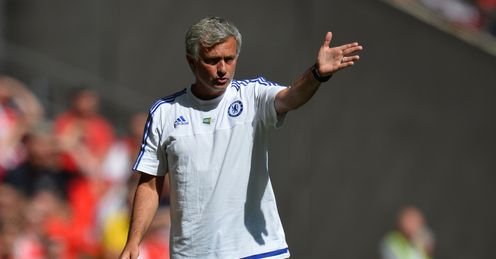 Jose Mourinho: Critical of the elements