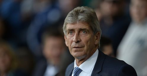 Manuel Pellegrini: Delighted with Sterling effect