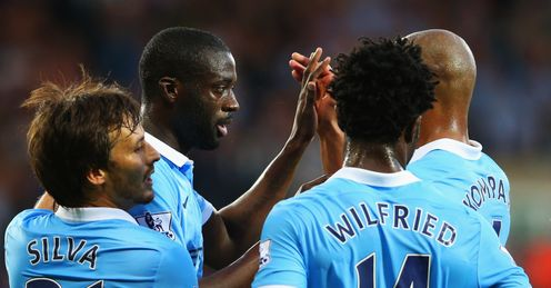 Man City: Seven clean sheets in eight at the Etihad