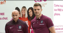 England supporting Breast Cancer Care