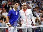 Federer v Djokovic gallery
