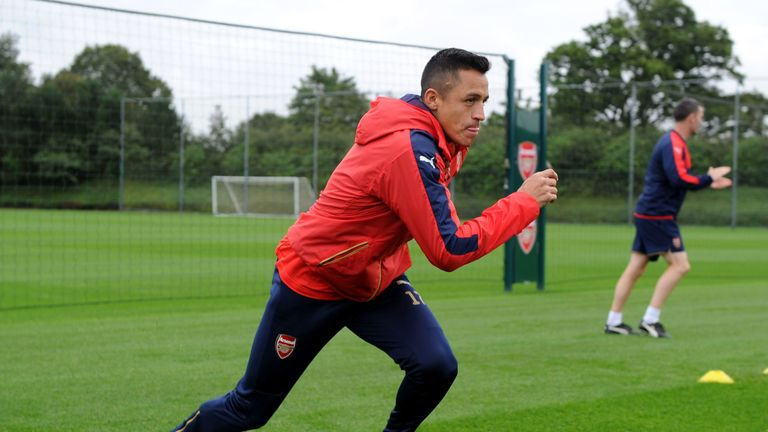Alexis Sanchez is not ready to make his Arsenal return, according to manager Arsene Wenger