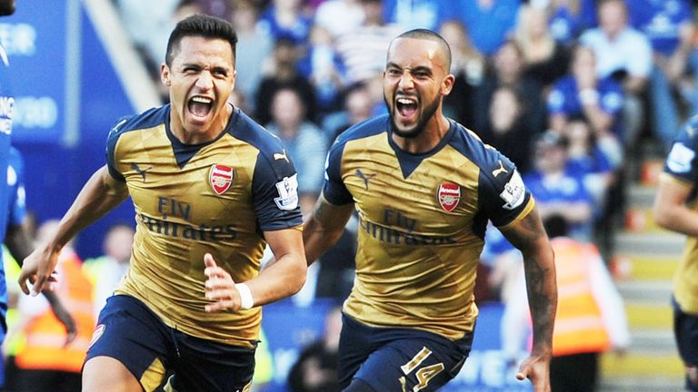 Sanchez was instrumental in Arsenal's win over Leicester earlier in the season