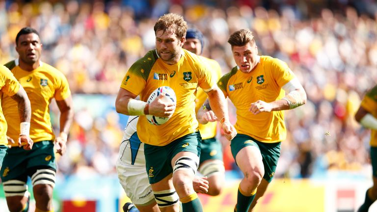 Ben McCalman has been capped 49 times by Australia