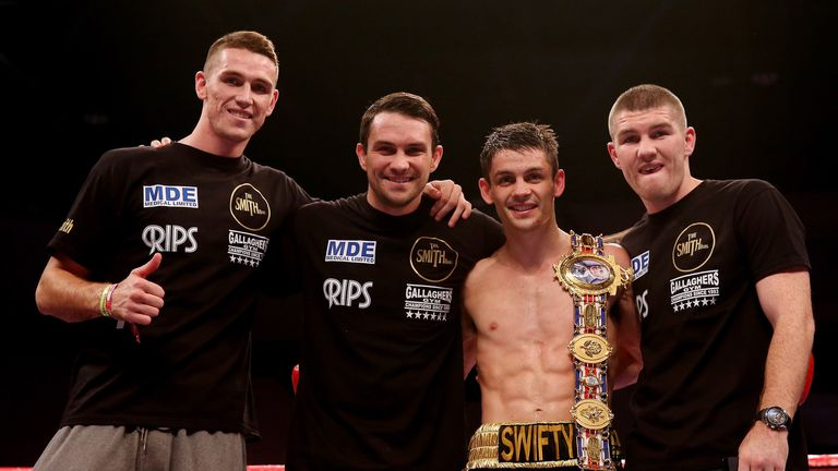 Callum Smith can join brothers Paul, Stephen and Liam as a British boxing champion
