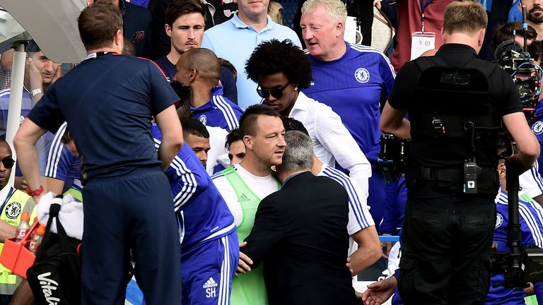 Terry again admitted the players let Jose Mourinho down before his sacking