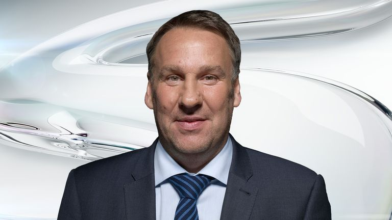 Paul Merson is tipping wins for Stoke, Liverpool and Manchester United, while he thinks the north London derby will end in a draw