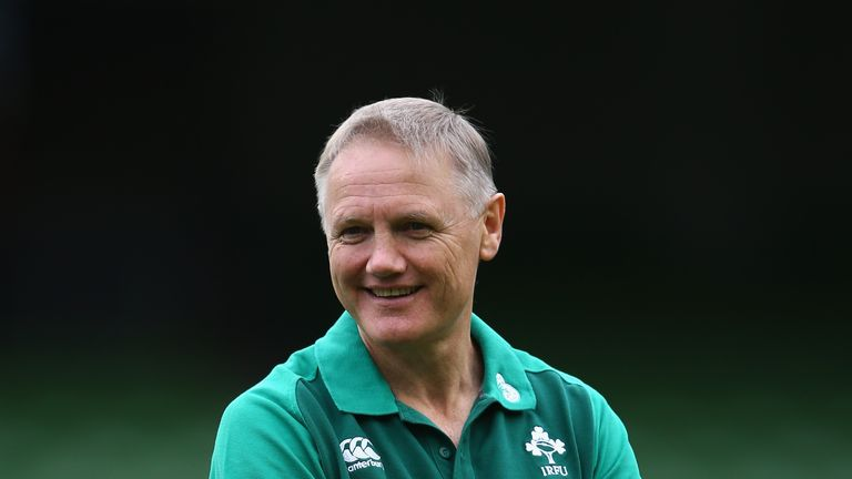 Ireland coach Joe Schmidt impressed by England midfield ...