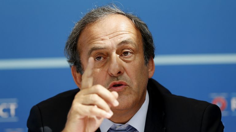 Michel Platini insists all his income was fully declared to Swiss authorities