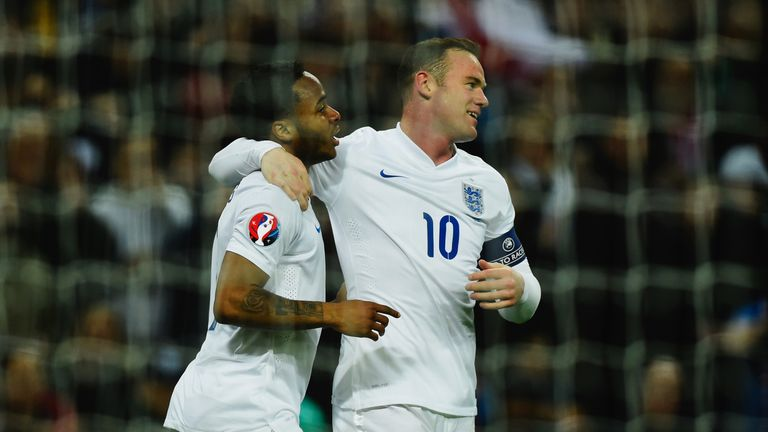 Raheem Sterling (left) is one of a number of young England players given their chance by Hodgson