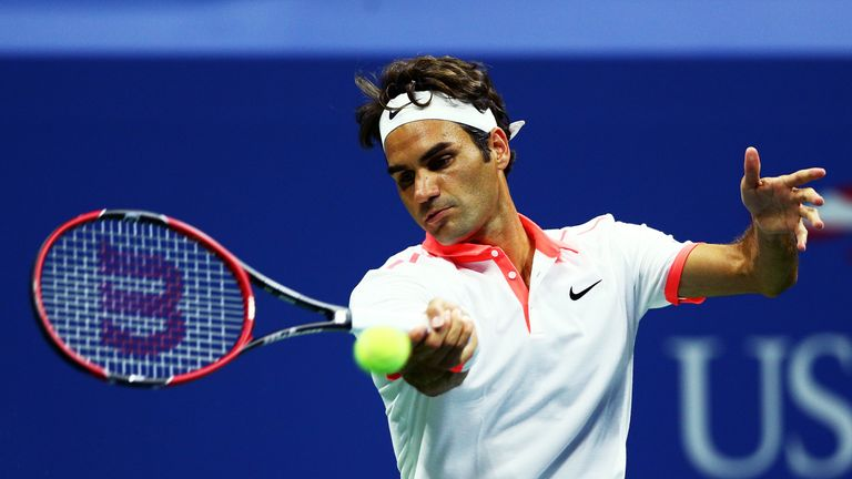 Federer has breezed through to the US Open semi-finals