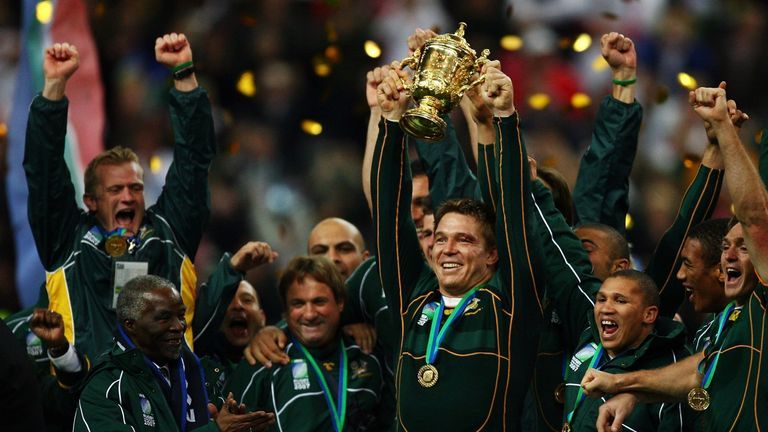 Smit lifted the 2007 World Cup as Springbok skipper