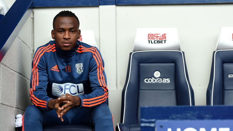 Berahino has started just eight Premier League games this season