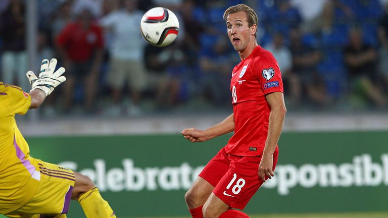 Harry Kane scored the pick of England's goals against San Marino
