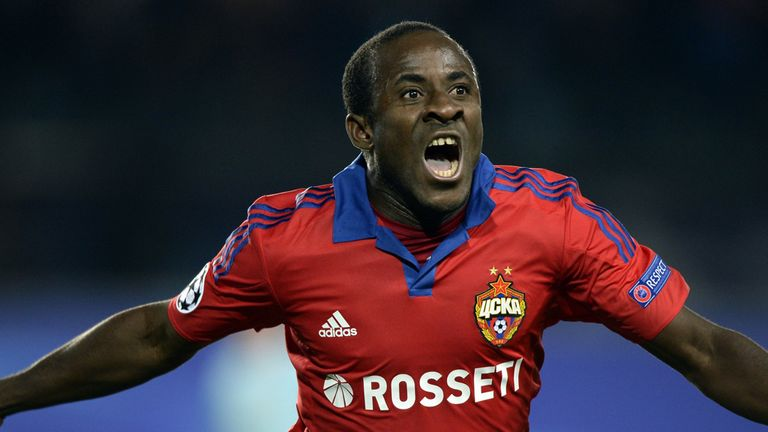 Seydou Doumbia rejoined CSKA Moscow on loan from Roma in August