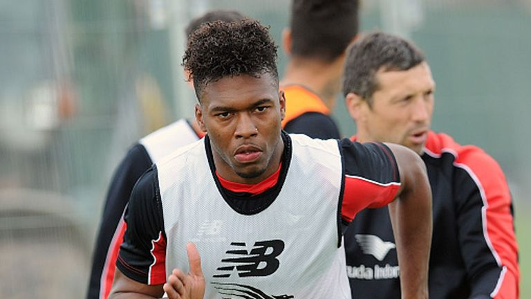 Daniel Sturridge returned to training on Wednesday after a long-term absence