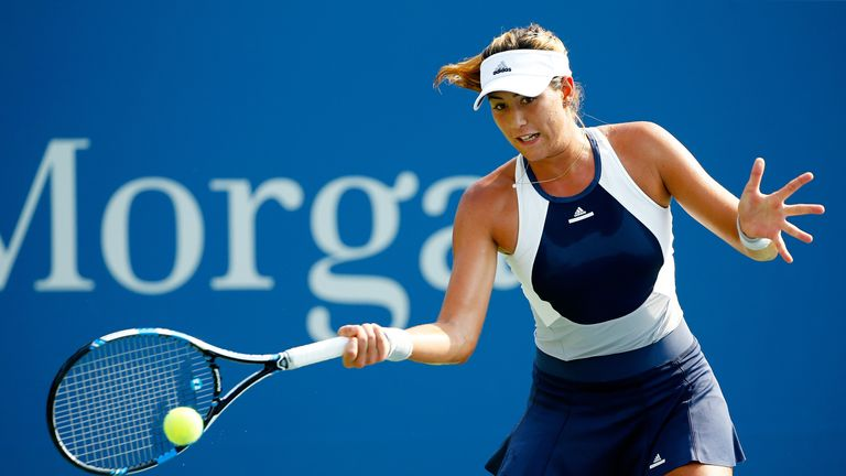 Garbine Muguruza will take on Konta next