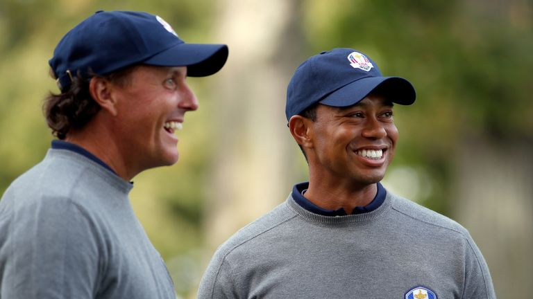Tiger Woods has appeared in seven Ryder Cups, alongside the likes of Phil Mickelson