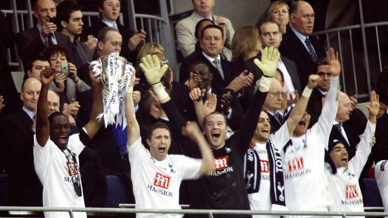 Tottenham have not won silverware since 2008