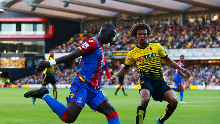 Crystal Palace and Watford are separated by just a point heading into this fixture