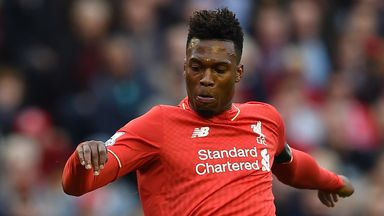 Daniel Sturridge had only just returned to fitness after a knee injury
