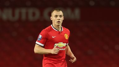 Liam Grimshaw: The Manchester United U21s captain has joined Motherwell on loan.