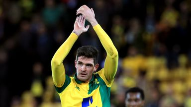 Lafferty has only featured sporadically at Norwich