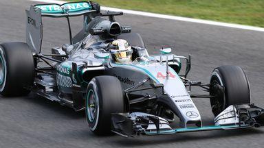 Lewis Hamilton: Fastest in Friday practice