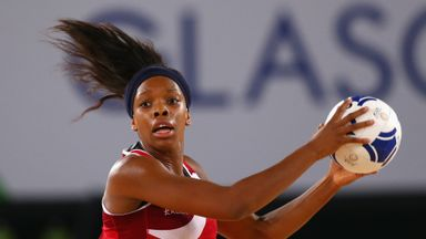 Eboni Beckford-Chambers is looking forward to getting to grips with netball's new rule changes.