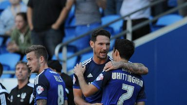 Cardiff's squad is as good as any in the division, according to Holloway