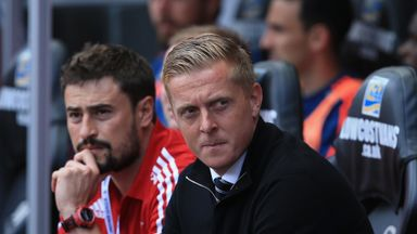 Garry Monk is under pressure at Swansea City after just one win in nine Premier League games
