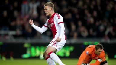 Viktor Fischer scored as a substitute for Ajax
