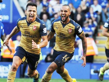 Alexis Sanchez: Has scored four goals in three games against Leicester City