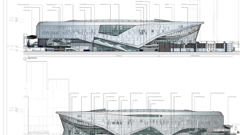 London Tottenham Hotspur Stadium New White Hart Lane