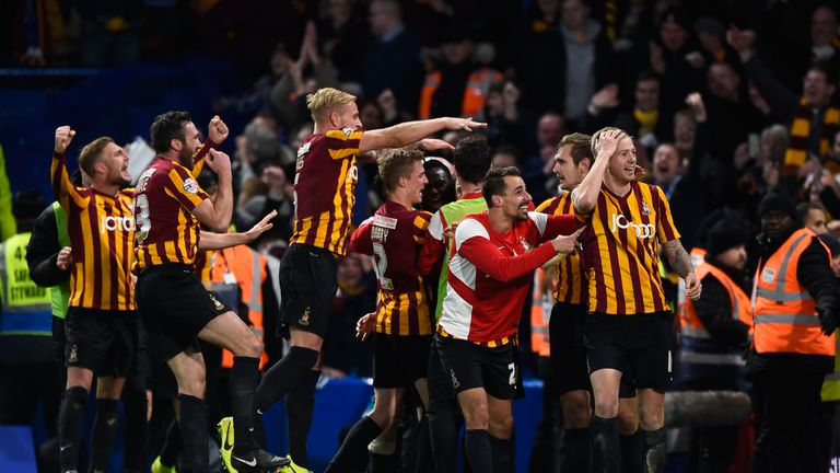 Chelsea are looking to avoid a shock like last season when they were knocked out of the FA Cup by Bradford City