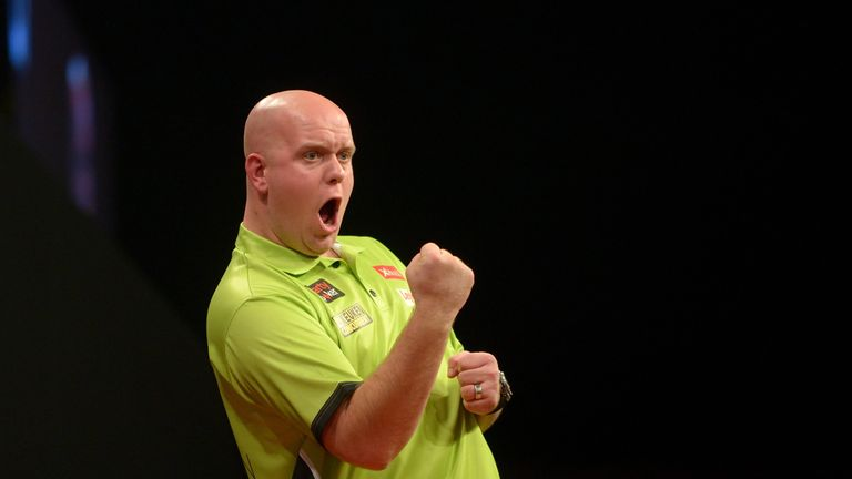 Michael van Gerwen will be trying to regain the Premier League crown