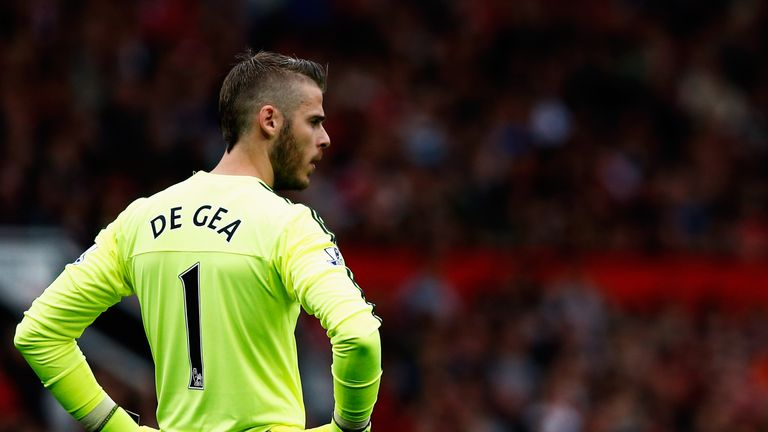 De Gea has once again been one of United's stand-out performers