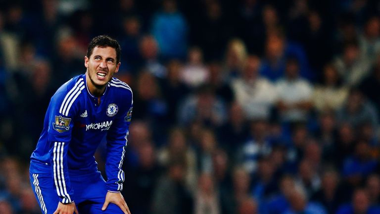 Eden Hazard is on Real Madrid's wish list, says Calderon