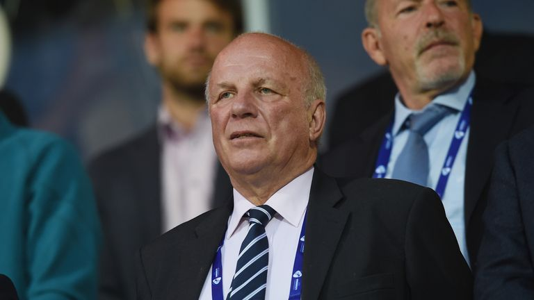 FA chairman Greg Dyke will step down in the summer
