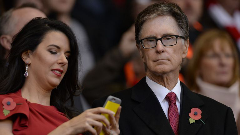 John W Henry (right), founder and owner of FSG, acquired Liverpool in 2010