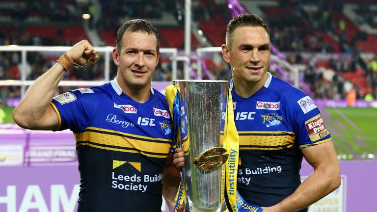 Rhinos skipper Sinfield kicked the winning conversion in his last ever game for the club