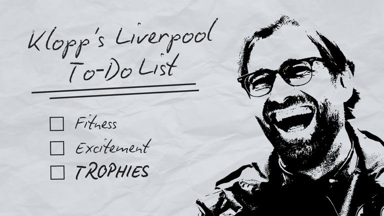 Jurgen Klopp has a lengthy list of issues to address at Liverpool