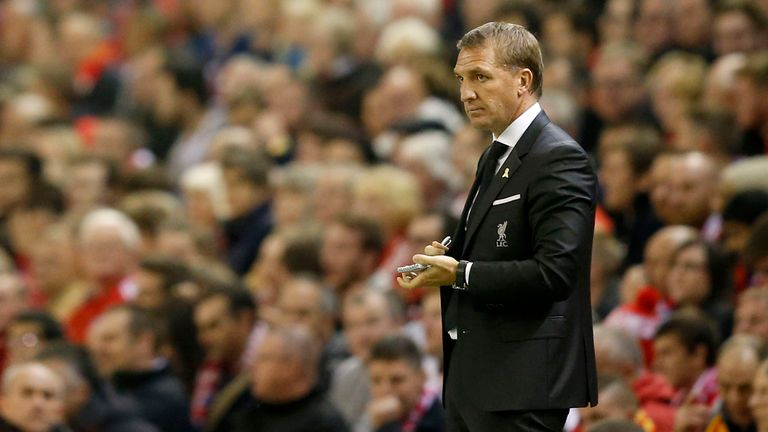 Brendan Rodgers was sacked by Liverpool